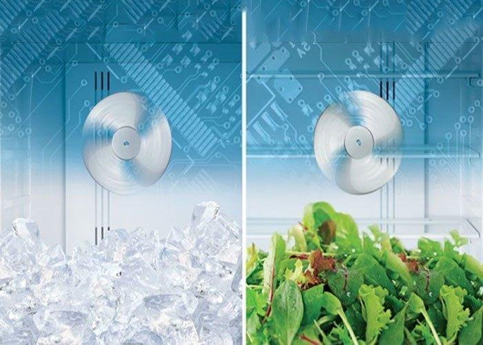 Tủ lạnh Hitachi R-VG440PGV3 (GBW) 365 lít làm lạnh hiệu quả