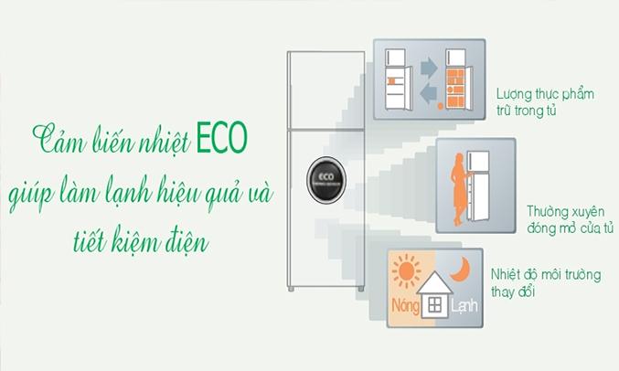 Tủ lạnh Hitachi R-VG470PGV3 (GBK) 395 lít duy trì nhiệt độ