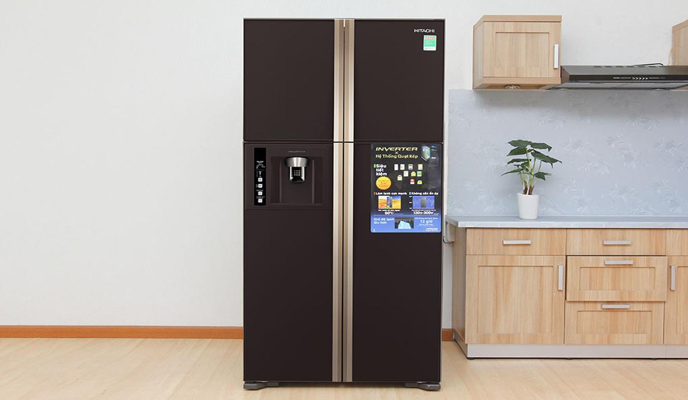 Tủ lạnh HitachiR-W660FPGV3X dung tích lớn