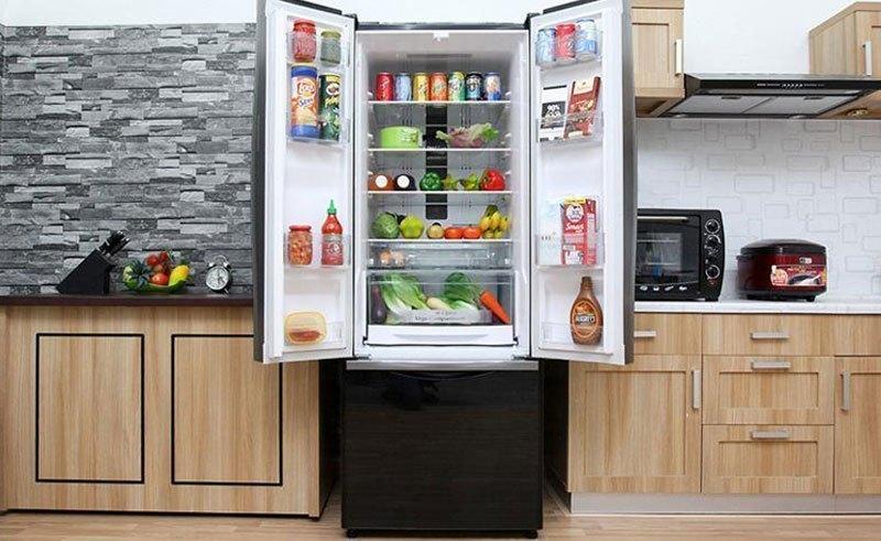 Tủ lạnh Hitachi R-WB475PGV2 có khay kính chịu lực tốt