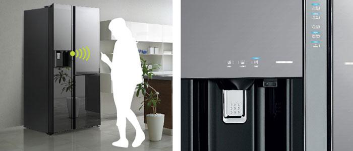 Tính năng này chỉ áp dụng cho dòng tủ lạnh Side by Side Hitachi cao cấp