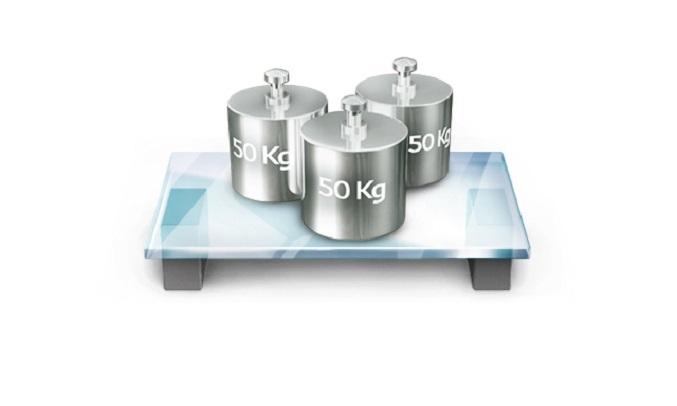 Tủ Lạnh LG Inverter 613 lít GR-B247JDS - Khay kính chịu lực bền bỉ