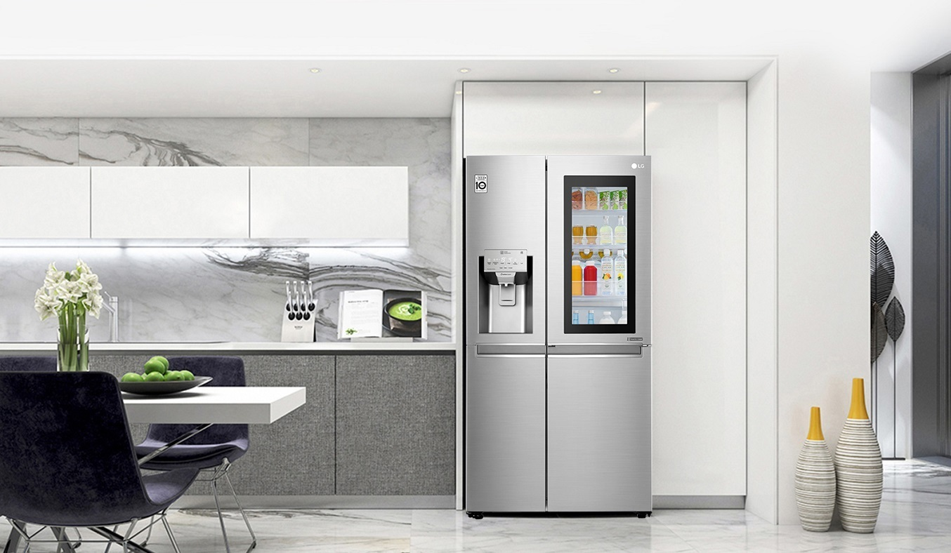 Tủ lạnh LG Inverter 601 lít GR-X247JS thiết kế hiện đại