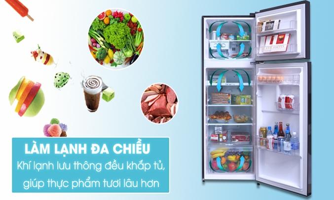 Tủ lạnh LG 208 lít GN-L208PN giúp thực phẩm luôn tươi ngon