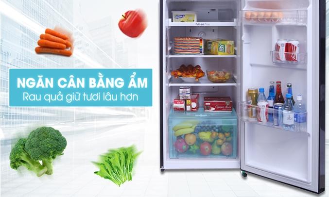 Tủ lạnh LG 208 lít GN-L208PN giúp rau quả luôn mọng nước