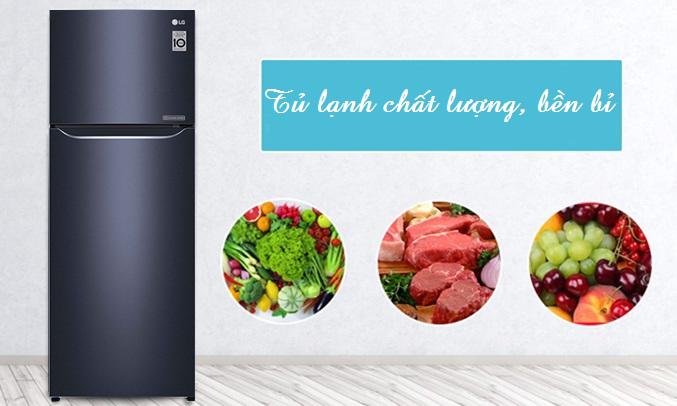 Tủ lạnh LG 208 lít GN-L208PN bền bỉ, chất lượng
