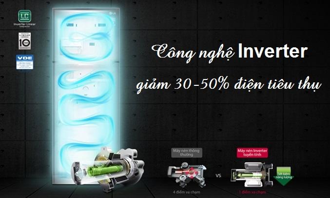 Tủ lạnh LG 208 lít GN-L208PN tiết kiệm điện, tiết kiệm chi phí sinh hoạt