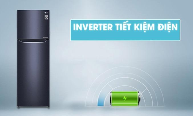 Tủ lạnh LG 255 lít GN-L255PN tiết kiệm điện, tiết kiệm chi phí sinh hoạt