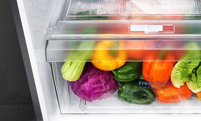 Tủ lạnh LG 315 lít GN-L315PS giúp rau quả luôn mọng nước