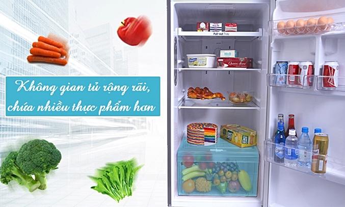 Tủ lạnh LG 315 lít GN-L315PS có không gian tủ rộng rãi