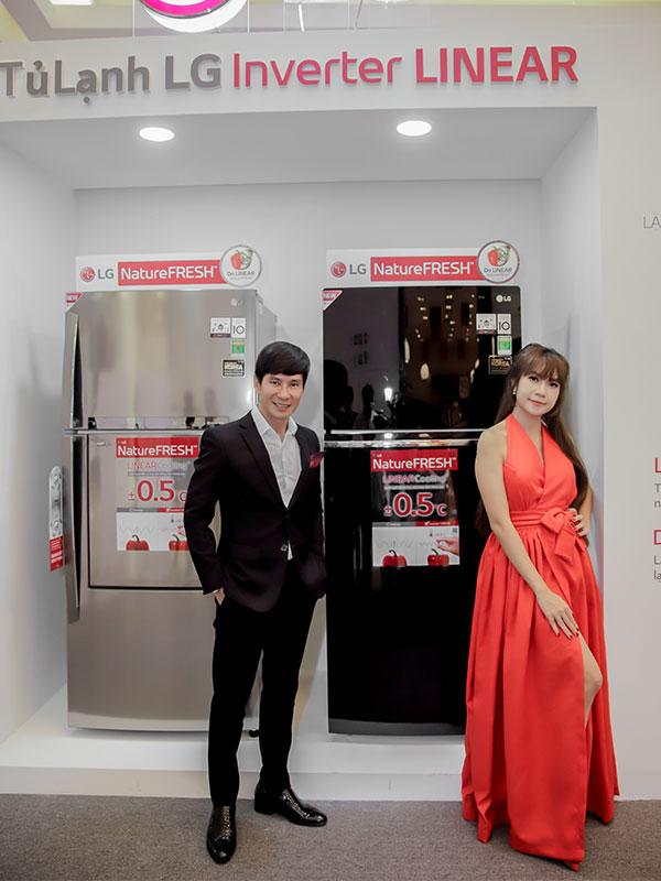 Sự kiện ra mắt dòng tủ lạnh mới của LG