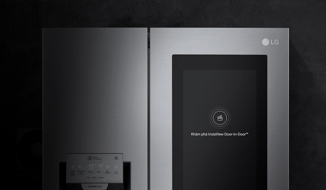 Tủ lạnh LG 601 lít GR-X247JS sang trọng