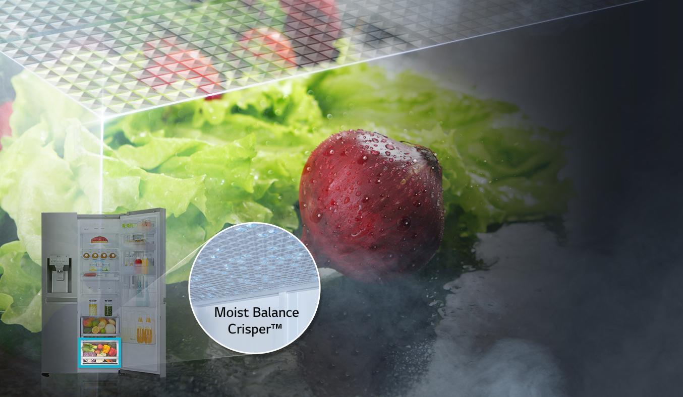 Tủ lạnh LG 601 lít GR-X247JS bảo quản thực phẩm tươi ngon