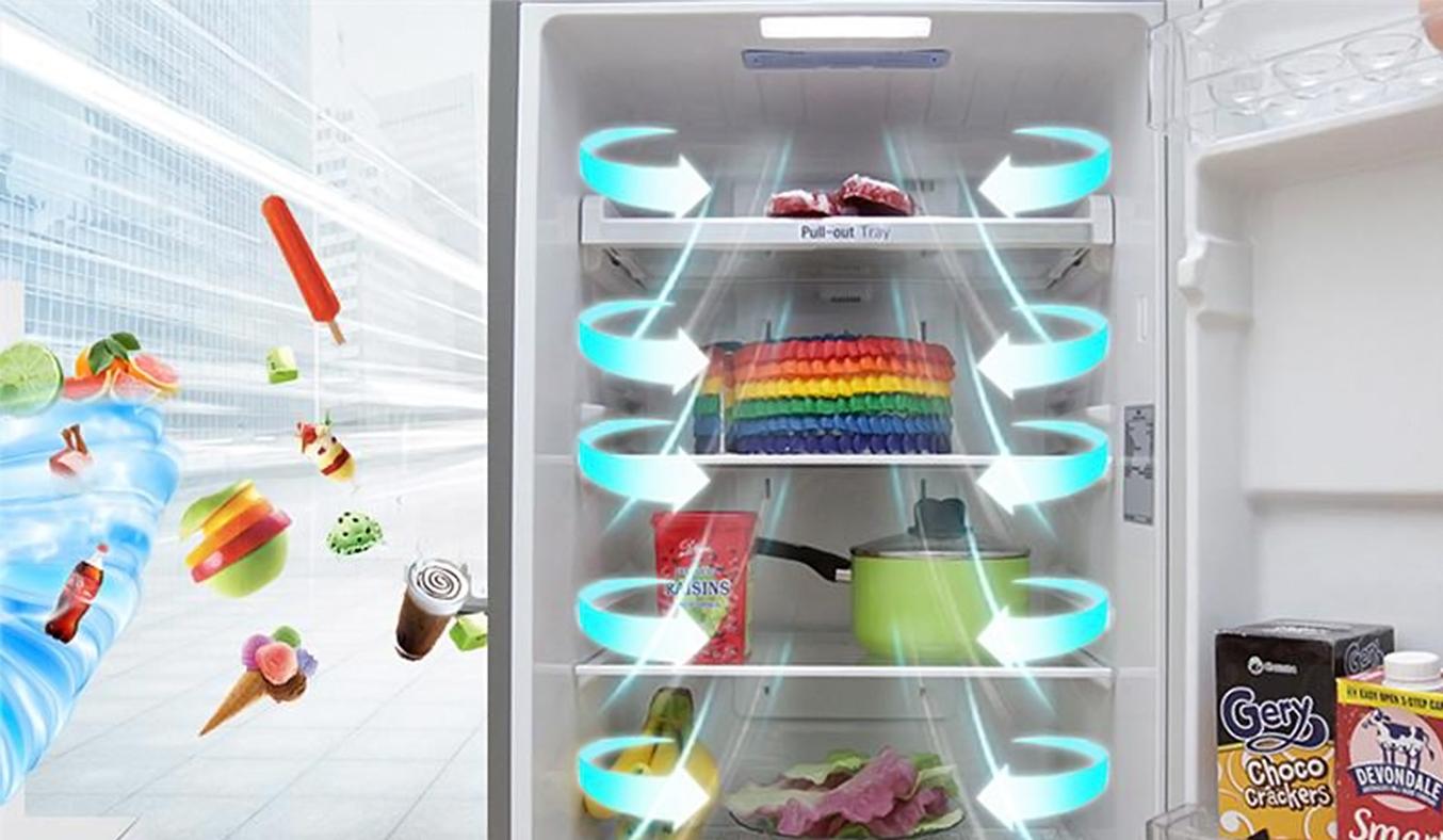 Tủ lạnh LG 209 lít GN-L225S làm lạnh nhanh