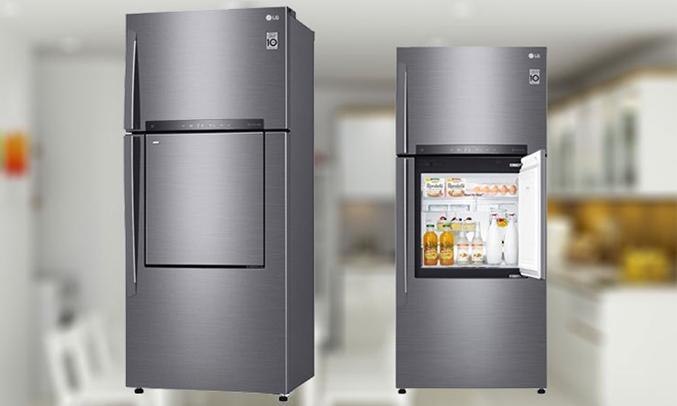 Tủ lạnh LG 512 lít GN-L702SD thiết kế 3 cửa hiện đại