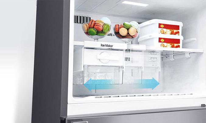 Tủ lạnh LG 512 lít GN-L702SD khay đá linh hoạt