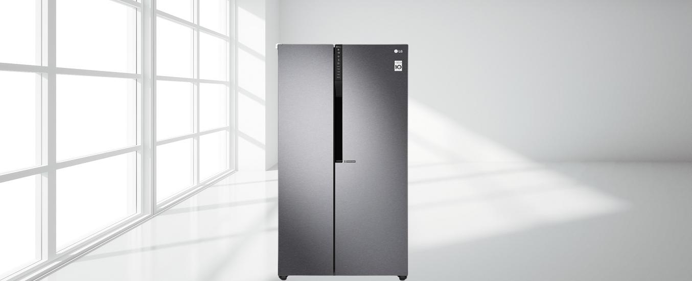 Tủ Lạnh LG Inverter 613 lít GR-B247JDS - Tủ Lạnh LG Inverter tiết kiệm điện năng hiệu quả