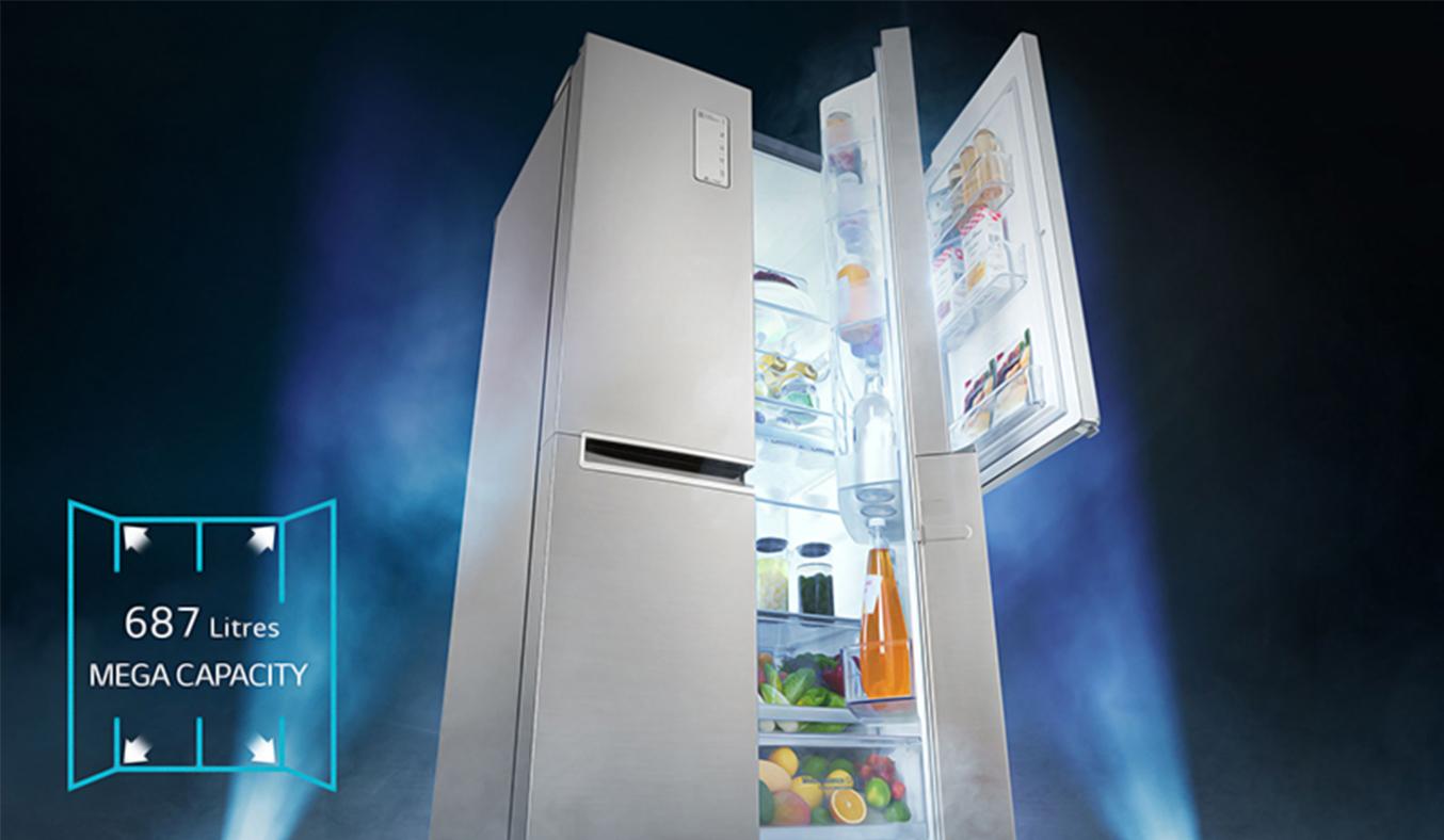 Tủ lạnh LG 626 lít GR-B247JP dung tích khủng