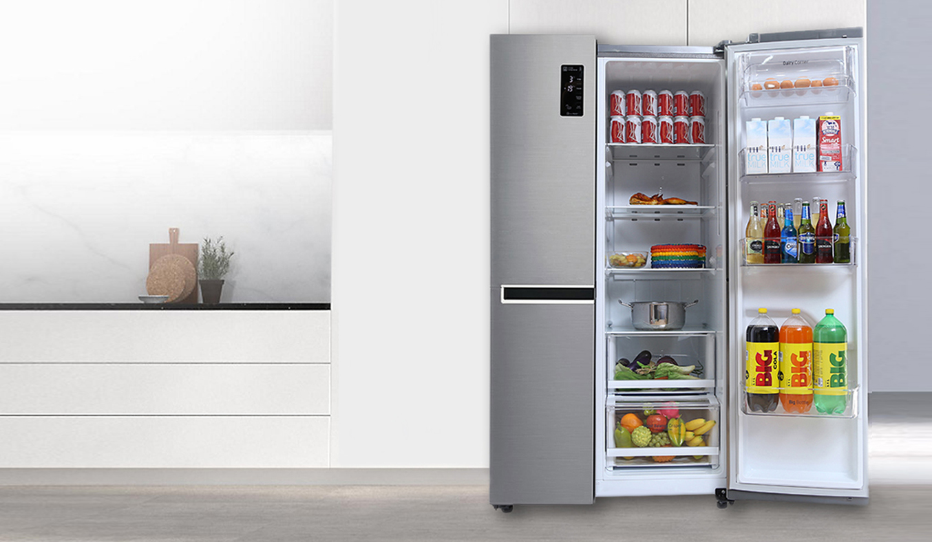 Tủ lạnh LG 626 lít GR-B247JS thiết kế sang trọng