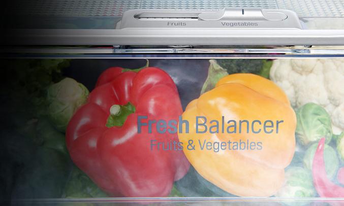 Tủ lạnh LG 626 lít GR-B247JS khử mùi, kháng khuẩn hiệu quả