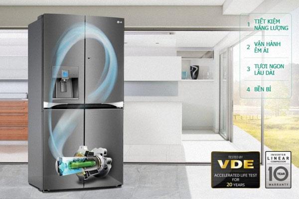 Với những nâng cấp đáng giá, Linear Inverter giúp tủ lạnh LG ngày càng được ưa chuộng hơn