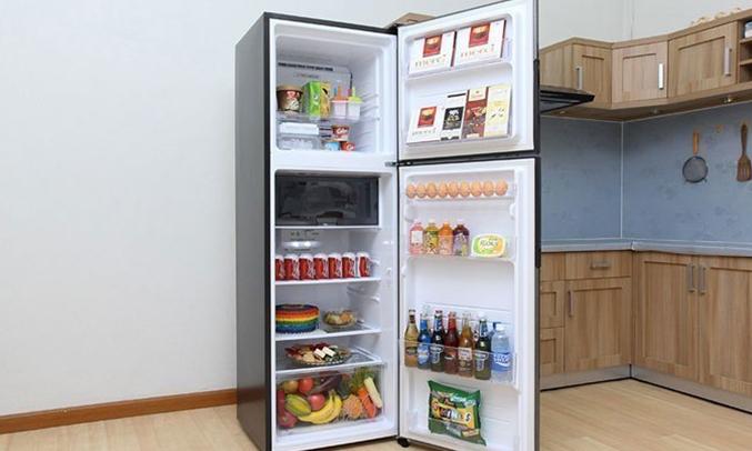 Tủ lạnh Sharp 314 lít SJ-X316E-SL hiện đại