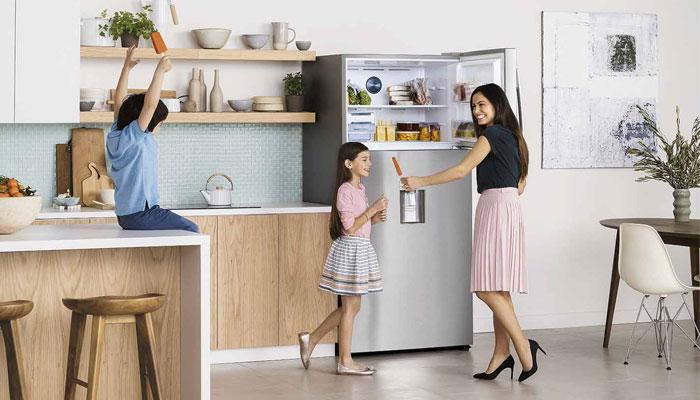 Đây là dạng tủ lạnh truyền thống được nhiều gia đình sử dụng