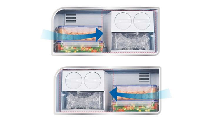 Tủ lạnh Panasonic NR-BL268PKVN tiết kiệm điện