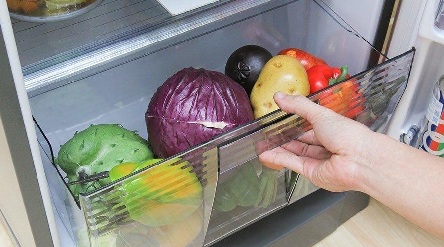 Mua tủ lạnh ở đâu tốt? Tủ lạnh Panasonic NR-BA178PSVN 152 lít