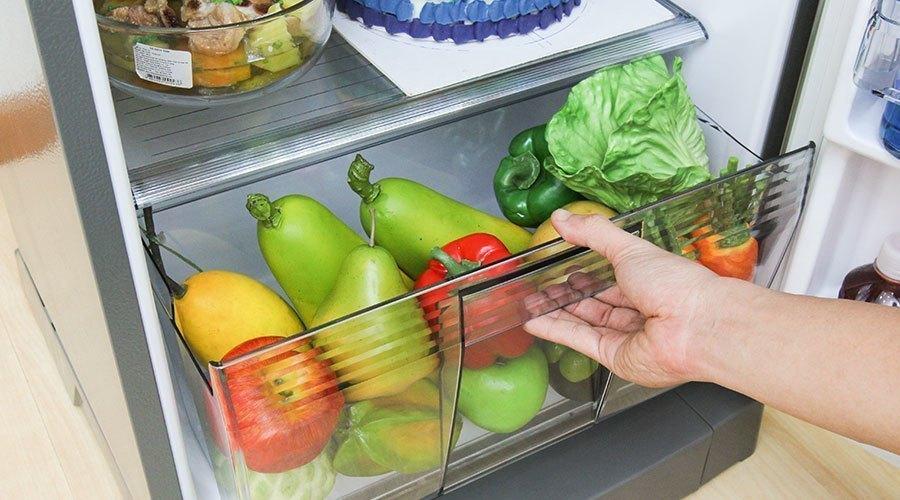 Mua tủ lạnh ở đâu tốt? Tủ lạnh Panasonic NR-BA188PSVN 167 lít