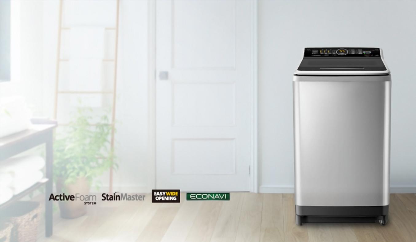 Máy giặt Panasonic 9KG NA-F90V5LRV sang trọng