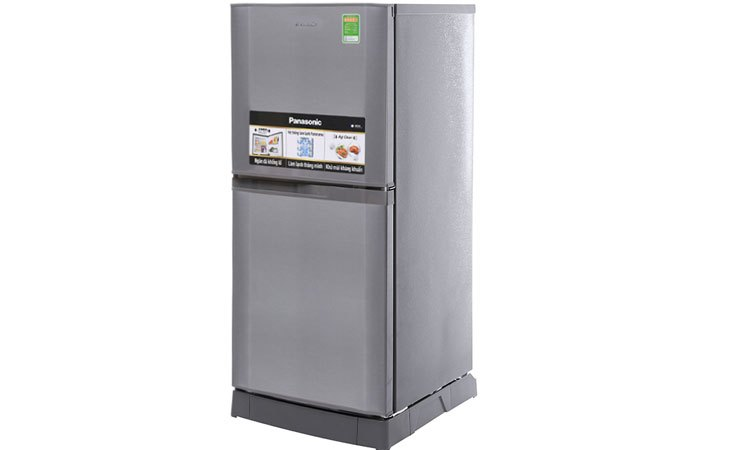 Tủ lạnh Panasonic 135 Lít NR-BJ158SSV1 đơn giản mà sang trọng