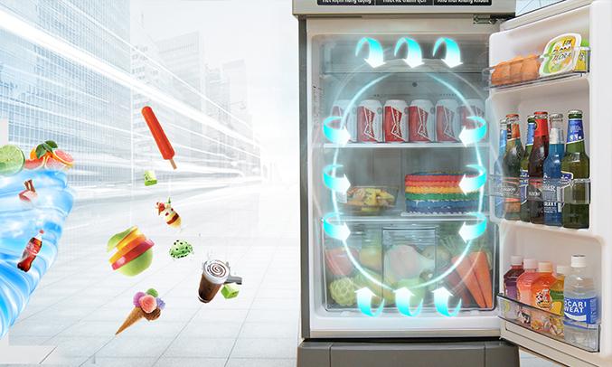 Tủ lạnh Panasonic 152L NR-BA178VSV1 ngăn giữ ẩm tiện dụng
