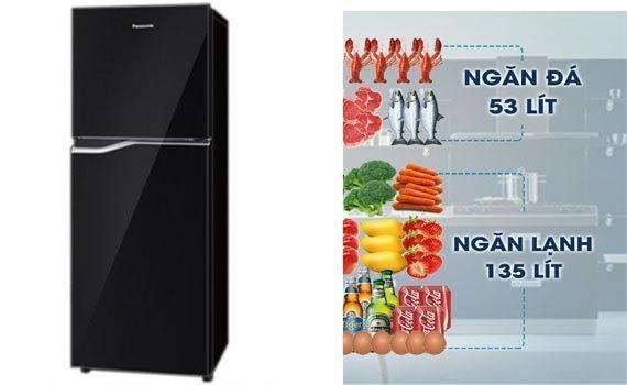Tủ lạnh Panasonic NR-BA228PKVN không bị đóng tuyết