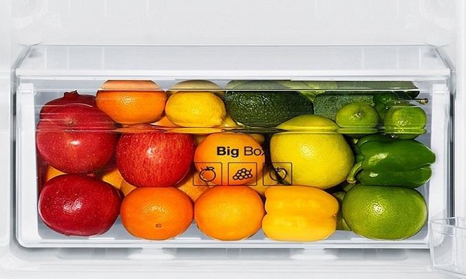 Tủ Lạnh Samsung Inverter 208 lít RT19M300BGS - Ngăn rau quả giữ ẩm