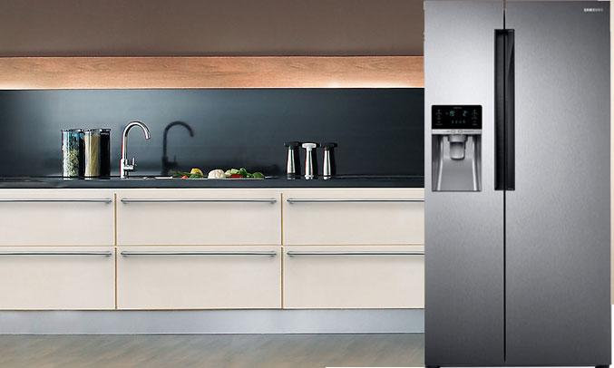 Tủ lạnh SBS Samsung RS58K6417SL/SV hiện đại