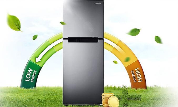 Tủ lạnh Samsung 208 lít RT19M300BGS/SV tiết kiệm hiệu quả