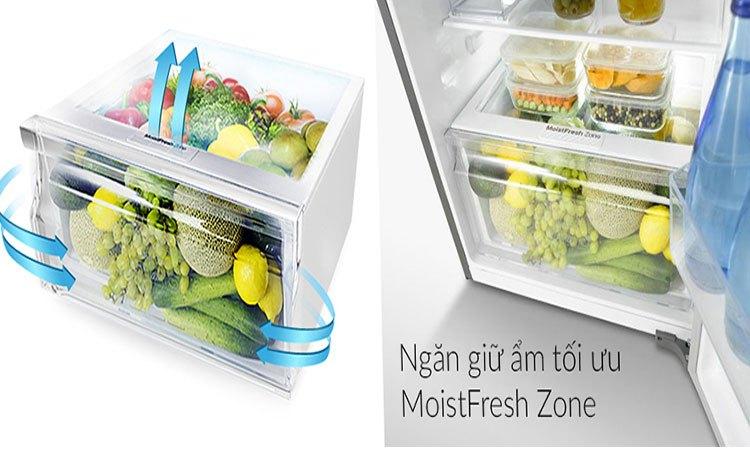 Tủ lạnh Samsung 208L RT20HAR8DSA ngăn rau quả làm lạnh hiệu quả cung cấp độ ẩm tốt