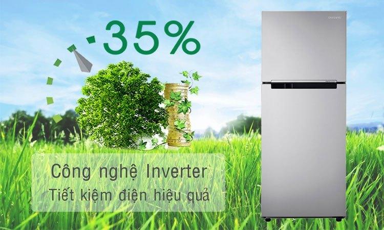Tủ lạnh Samsung 208L RT20HAR8DSA công nghệ inverter tiết kiệm điện