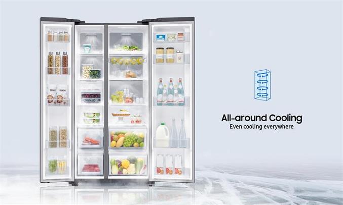 Tủ lạnh Samsung Inverter 680 lít RS62R5001M9 - Thực phẩm tươi ngon mỗi ngày