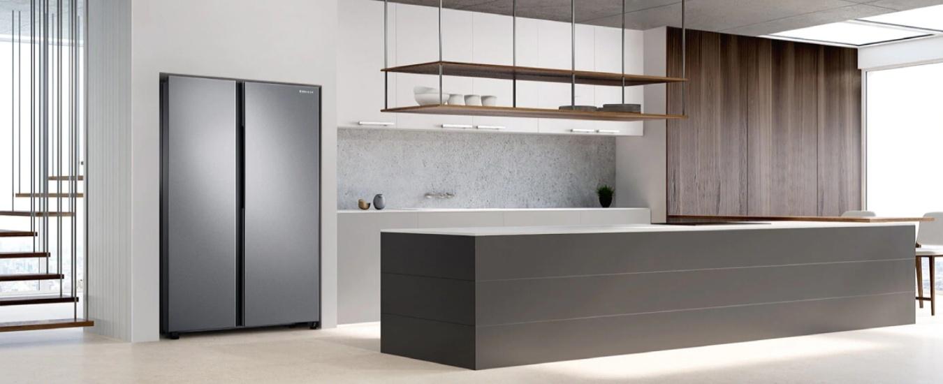 Máy Giặt ELECTủ lạnh Samsung Inverter 680 lít RS62R5001M9TROLUX 8 KG EWF8025BQWA - Thiết kế sang trọng, đẳng cấp Châu Âu