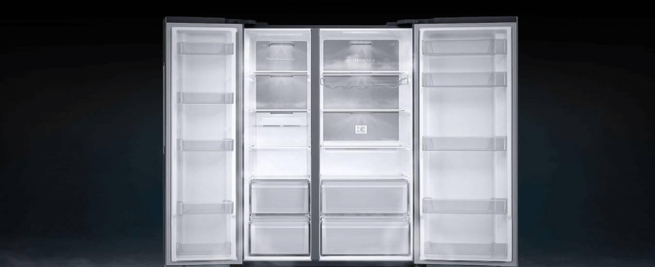 Tủ lạnh Samsung Inverter 680 lít RS62R5001M9 - Tủ lạnh side by side mở rộng tối đa không gian lưutrữ