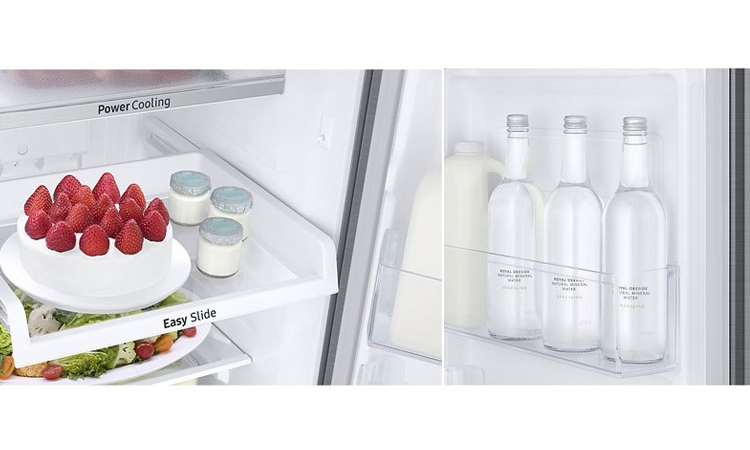 Tủ lạnh Samsung Inverter 234 lít RT22M4033S8/SV sở hữu công nghệ cấp đông mềm