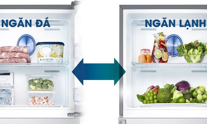 Tủ lạnh Samsung RT29K5532S8 295 lít 5 chế độ chuyển đổi