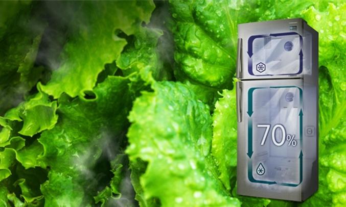 Tủ lạnh Samsung RT46K6836SL làm lạnh nhanh