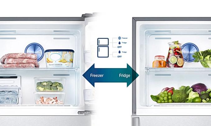 Tủ lạnh Samsung RT46K6836SL chuyển đổi thông minh