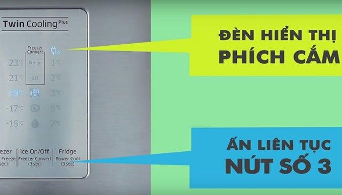 Tắt ngăn mát tủ lạnh Samsung đơn giản chỉ trong một thao tác