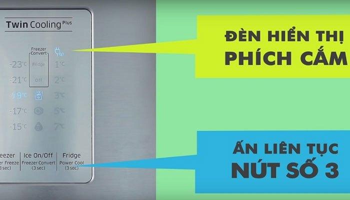 Biến tủ lạnh Samsung thành ngăn mát mini