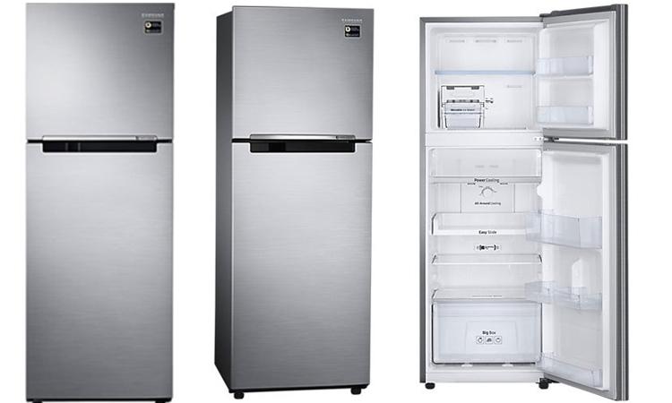 Tủ lạnh Samsung Inverter 256 lít RT25M4033S8/SV có thiết kế 2 cửa đơn giản