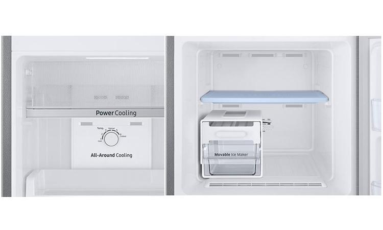 Tủ lạnh Samsung Inverter 256 lít RT25M4033S8/SV được trang bị luồng khí lạnh đa chiều
